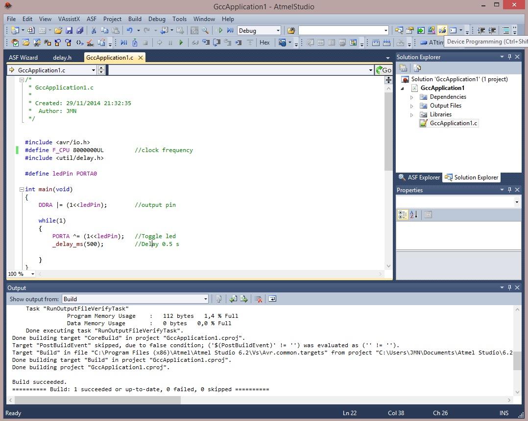 Device Programming.