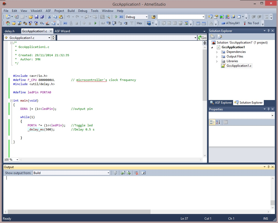 11 Atmel Studio Elecrab Software Provides An Environment To Test Our Microcontroller Program C Code